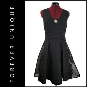 Forever Unique Women Fit & Flare Sleeveless Dress